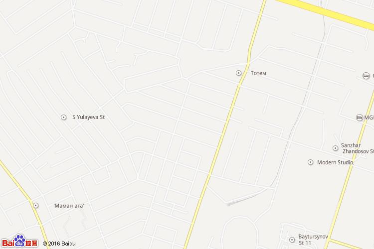 奇姆肯特地图