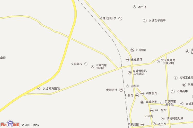 庆尚北道地图