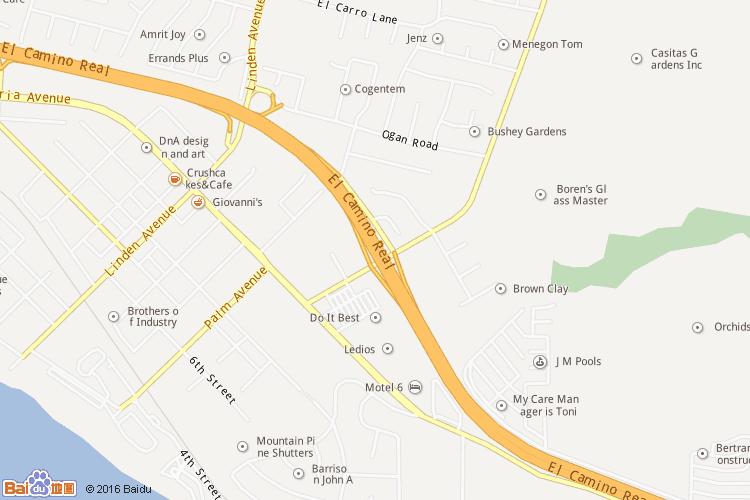加利福尼亚州地图查询 加利福尼亚州地图全图高清版