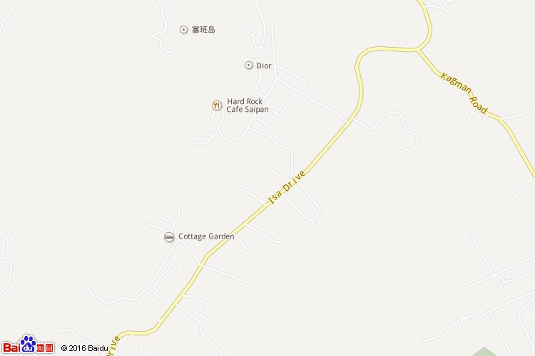 塞班岛地图