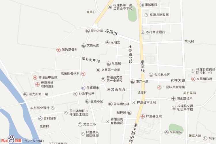 江油地图查询 江油地图全图高清版