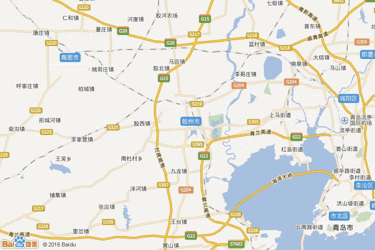 青岛地图查询 青岛地图全图高清版