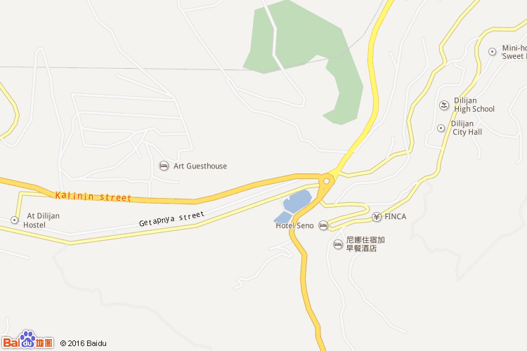 迪利然地图