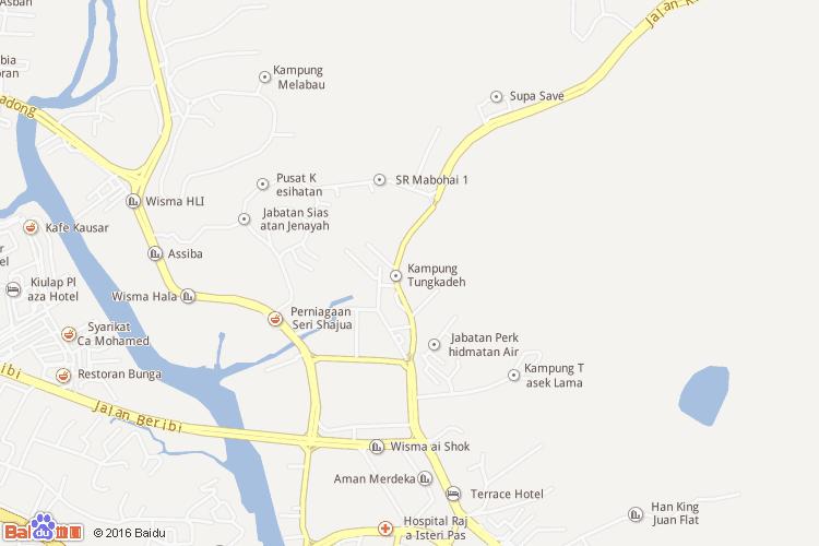 斯里巴加湾市地图