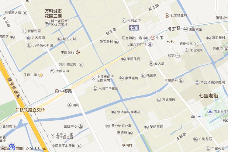 宝山地图查询 宝山地图全图高清版