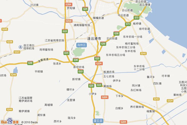 连云港地图