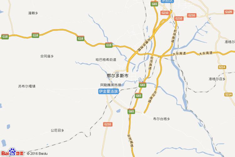 鄂尔多斯地图