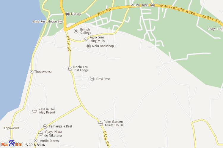 波隆纳鲁沃地图