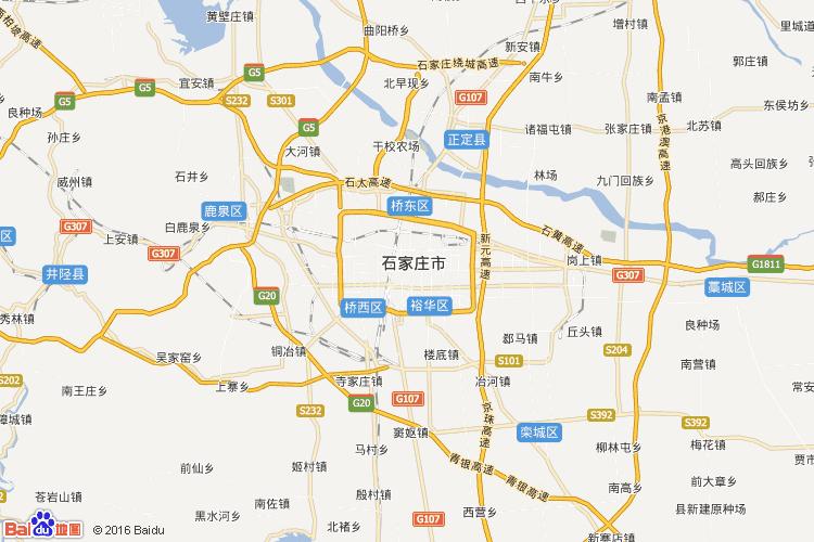 石家庄地图