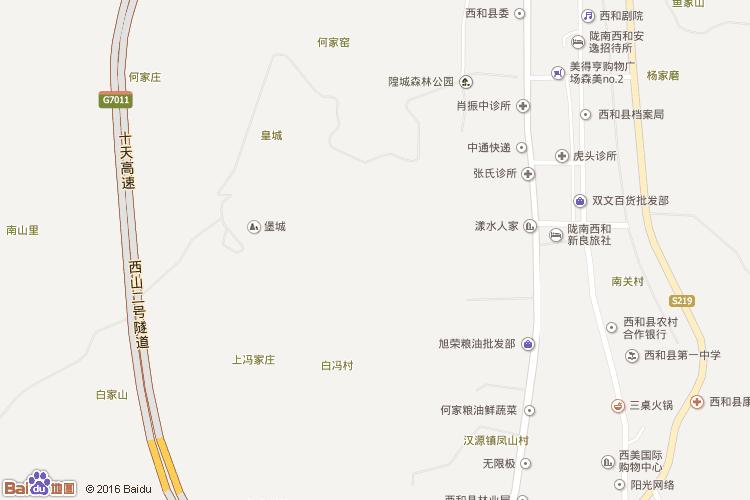 文县地图查询 文县地图全图高清版
