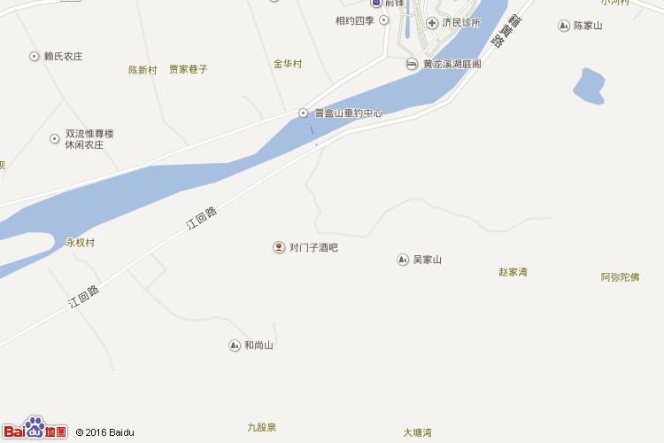 黄龙溪地图