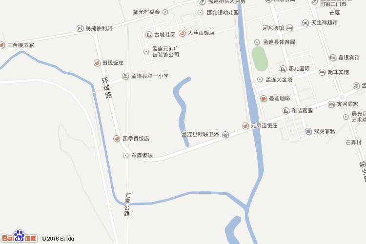 墨江地图查询 墨江地图全图高清版