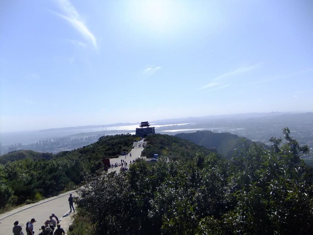 大连大黑山风景区地图展示
