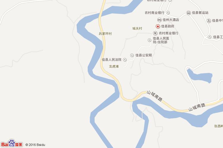 陝西米脂县乡镇地图