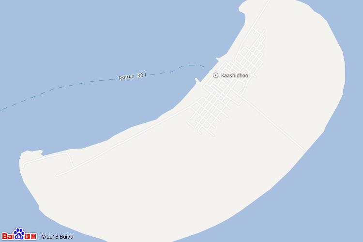 卡夫环礁地图