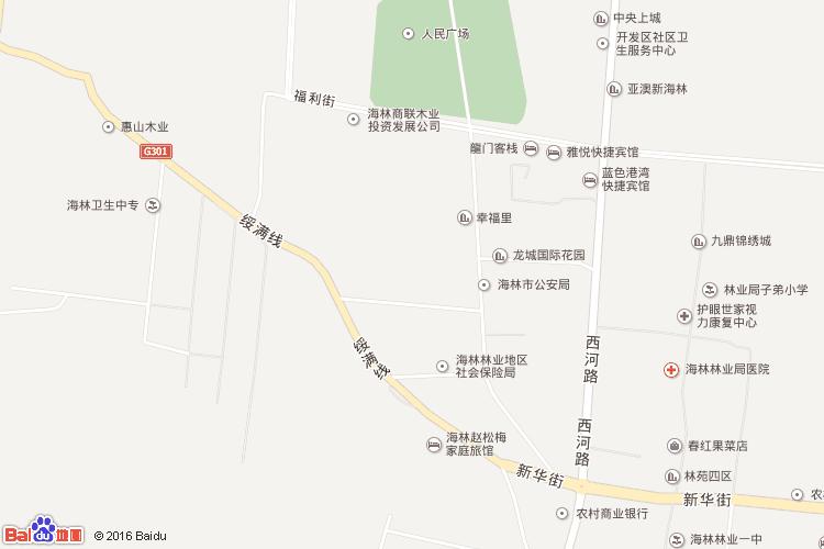 牡丹江地图查询 牡丹江地图全图高清版