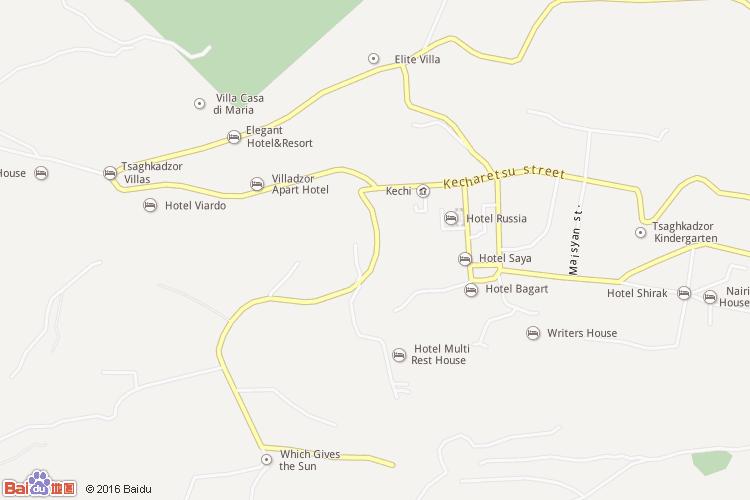 tsaghkadzor地图