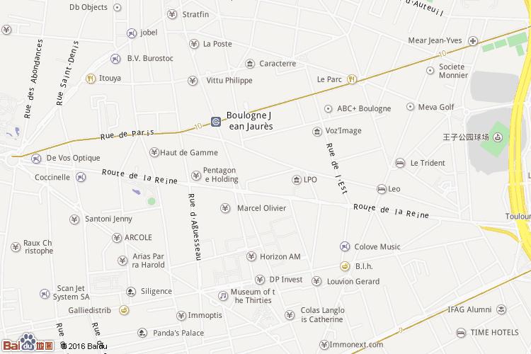 上塞纳省地图