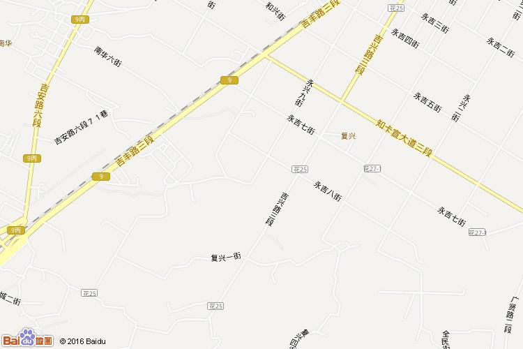 玉里地图查询 玉里地图全图高清版