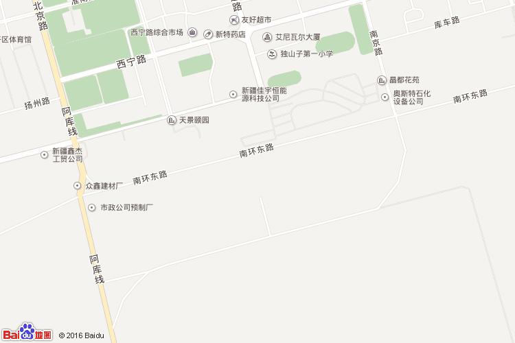 乌尔禾地图查询 乌尔禾地图全图高清版