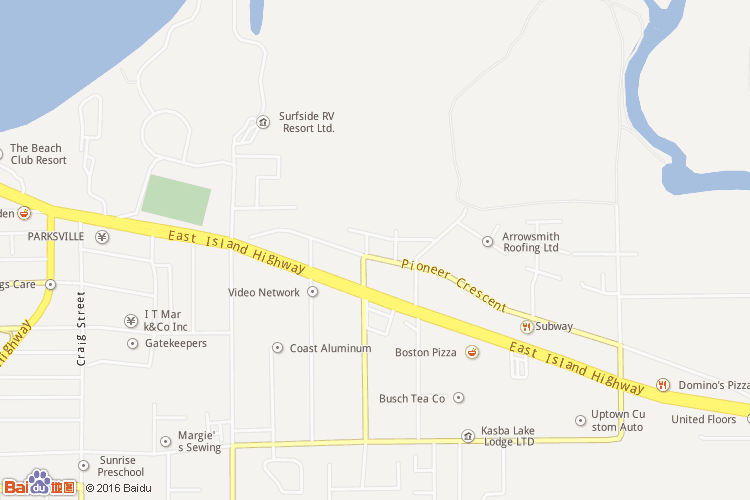 温哥华岛地图查询 温哥华岛地图全图高清版