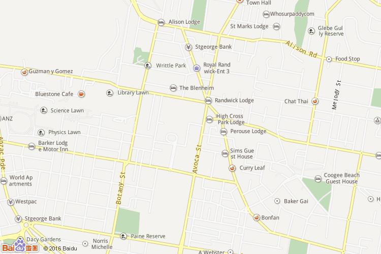 大悉尼地图查询 大悉尼地图全图高清版