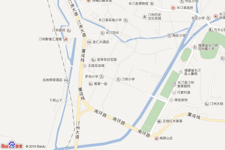 武平地图查询 武平地图全图高清版