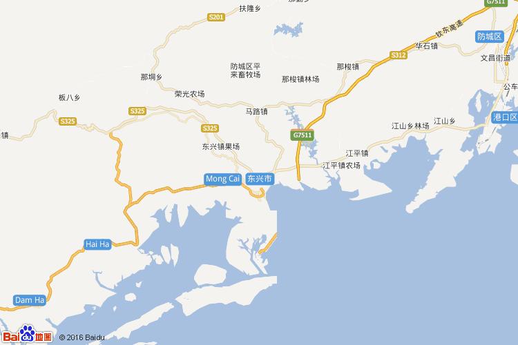 广西地图 > 防城港地图             防城港市是广西壮族自治区下辖的