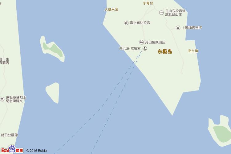 东极岛地图