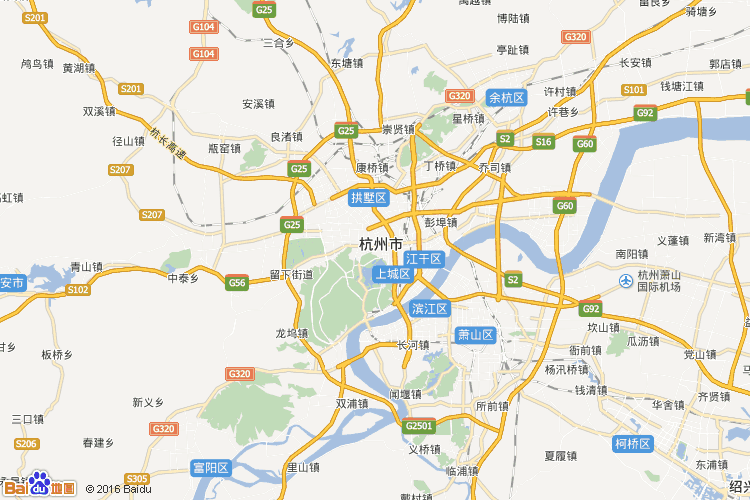 萧山地图查询 萧山地图全图高清版
