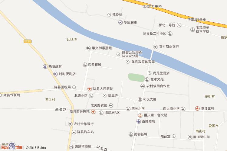 凤县地图查询 凤县地图全图高清版