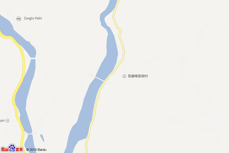 普那卡宗地图