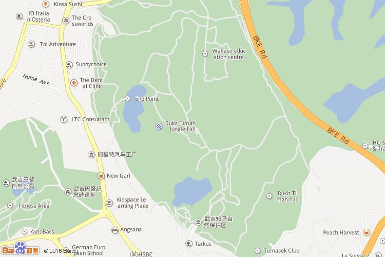 花芭山地图