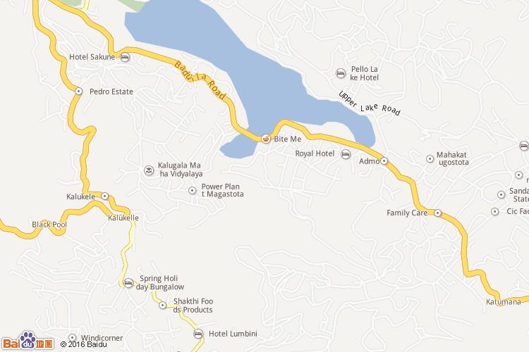 努沃勒埃利耶地图
