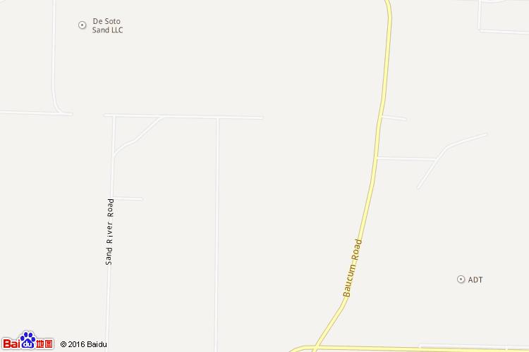 阿肯色地图