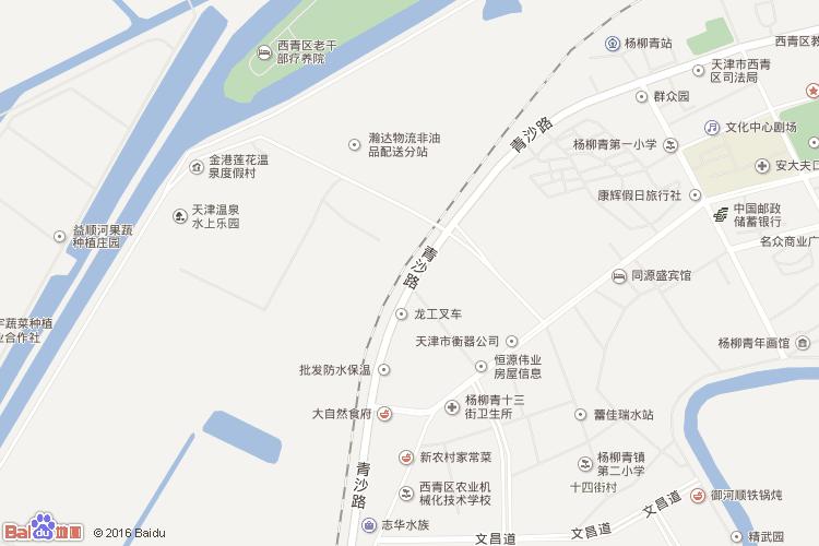杨柳青地图