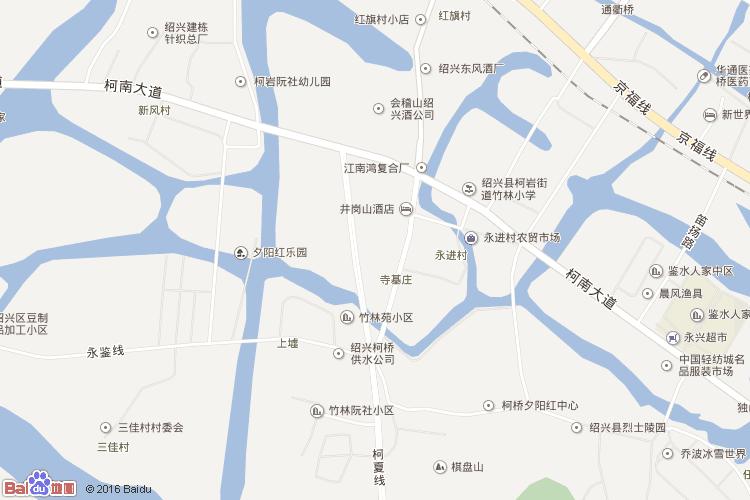 柯桥至宁波溪口风景区