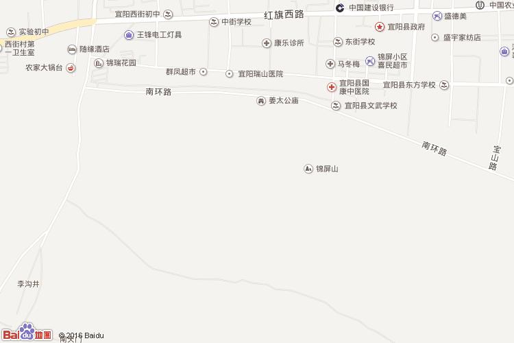 栾川地图查询 栾川地图全图高清版