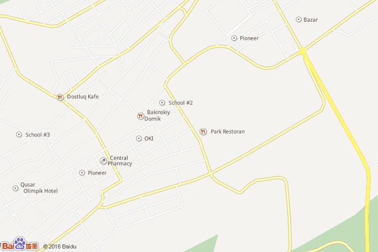 库萨雷地图