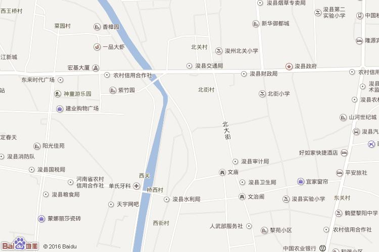 鹤壁地图查询 鹤壁地图全图高清版