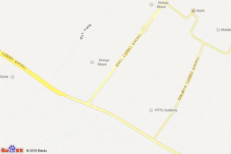 阿什哈巴德市地图
