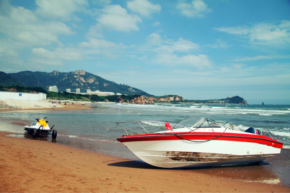 石老人海滨浴场